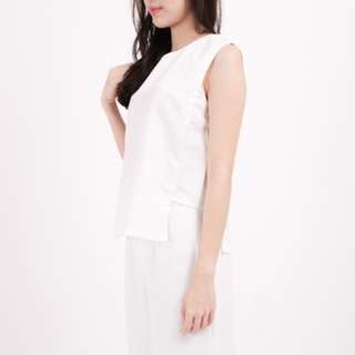 Tank Top White (LEONE Basic Top)