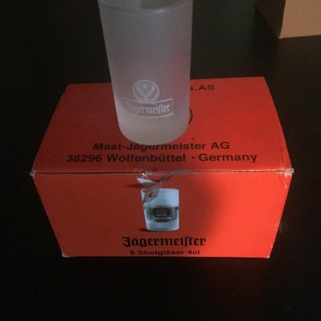 2 oz Jager shot glasses