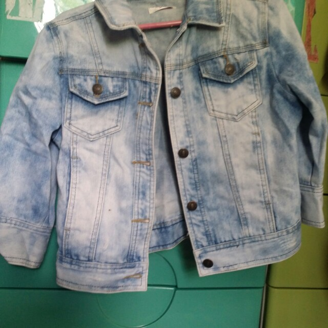 3/4 denim jacket
