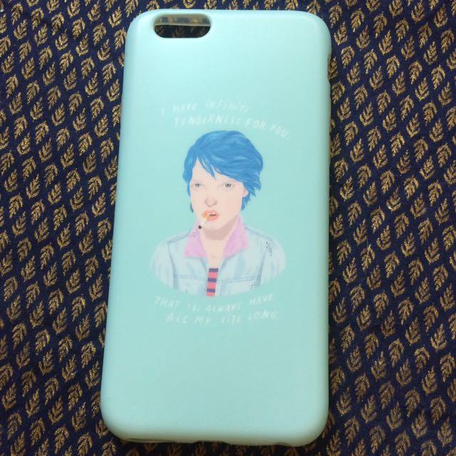 藍色是最溫暖的顏色手機殼-ipone 6s
