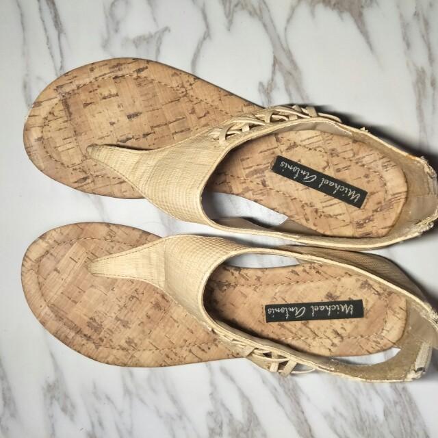 夾腳平底涼鞋