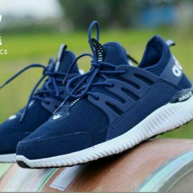 Adidas Alphabounce Olshop Fashion Pria Di Carousell