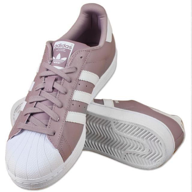 competitive price 71882 5e5f2 Adidas Superstar Sneakers White Blanch Purple, Women s Fashion, Shoes on  Carousell