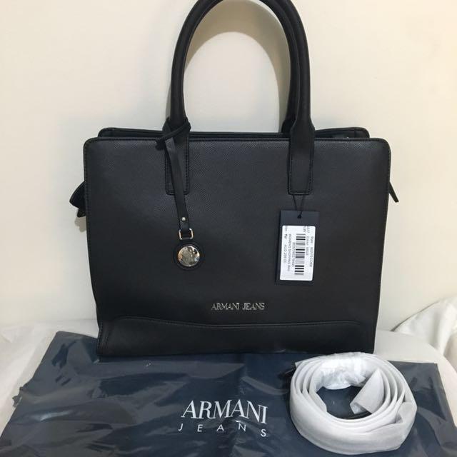 AUTHENTIC Armani Jeans Women's Shopping Bag