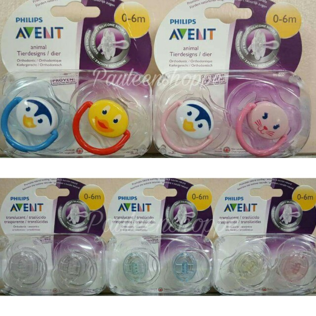 Avent Pacifier 0-6 mos.