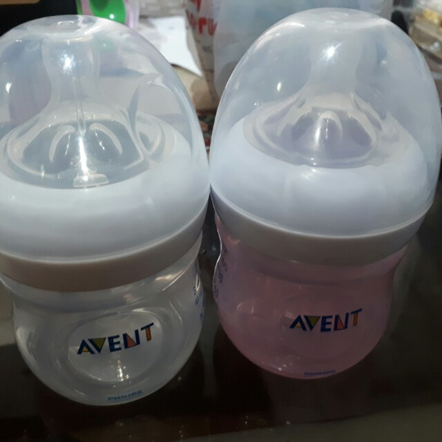 Avent preloved 4oz bottles 3pcs