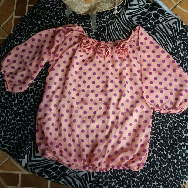 Baju Atasan Polka Cantik