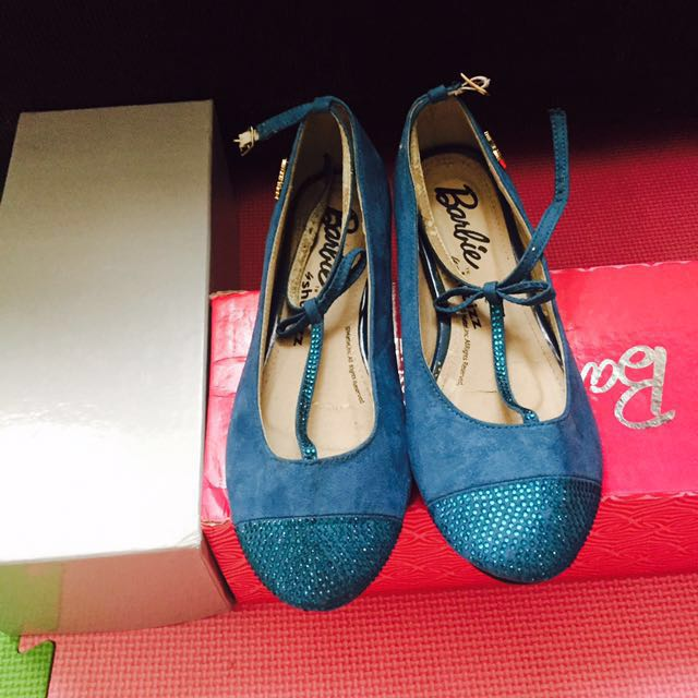 Barbie Blue doll shoes