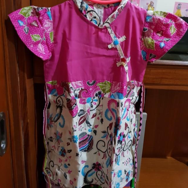 Rok Terusan Batik shanghai anak