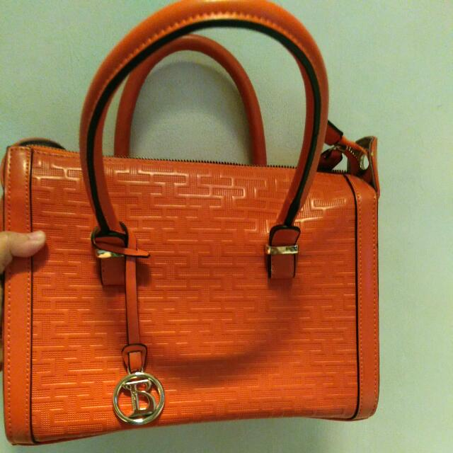 Tas Bag Belezza Orange Nett
