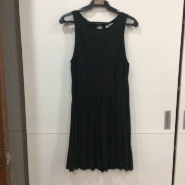 Black Cotton On Dress