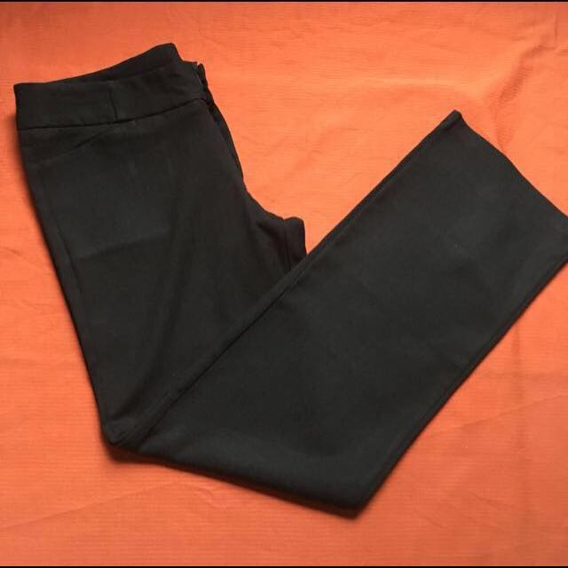 Black Slacks, Size: Best Fits 27 or 28