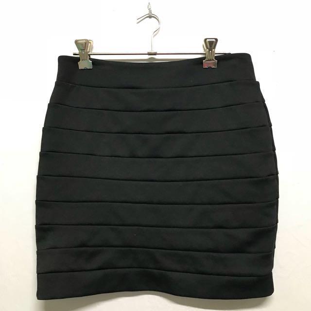 Black Supre Skirt