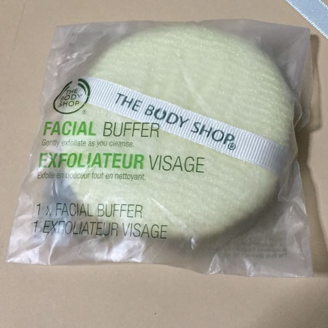 Bn Bodyshop Facial Buffer Exfoliating Sponge Health Beauty