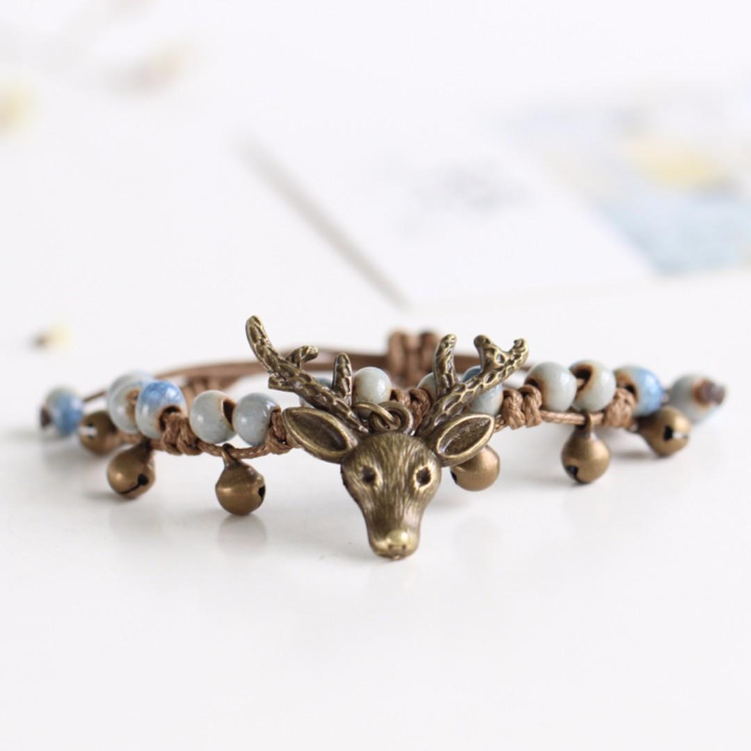 Bracelets - Deer (Blue/Green/Yellow)