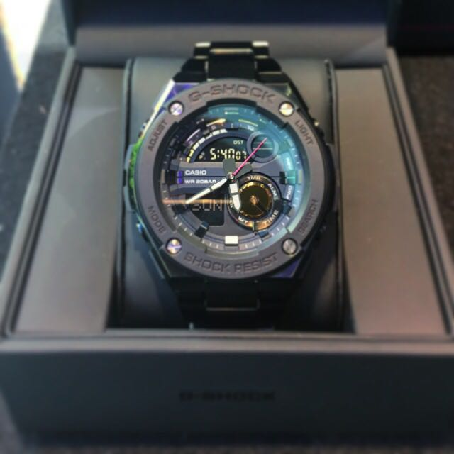 632e87655f1 Brand New Authentic Casio G-Shock G-Steel GST-200RBG-1A A ...