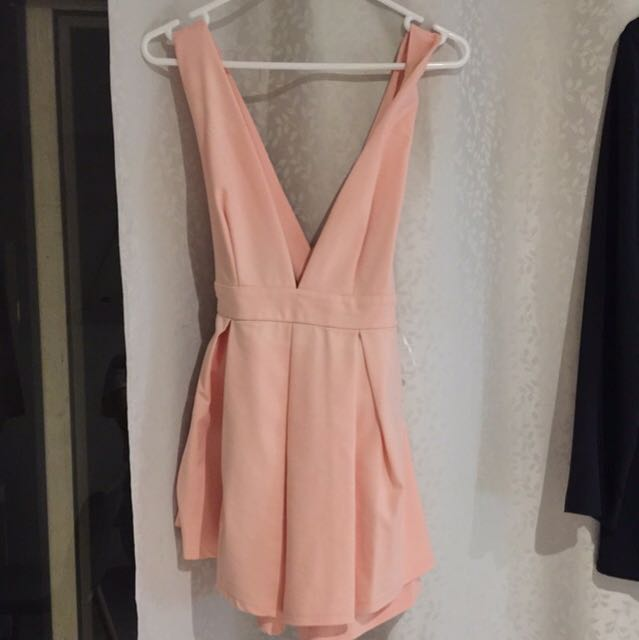 Brand new peach jumpsuit
