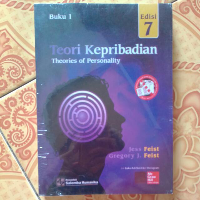 Buku teori kepribadian