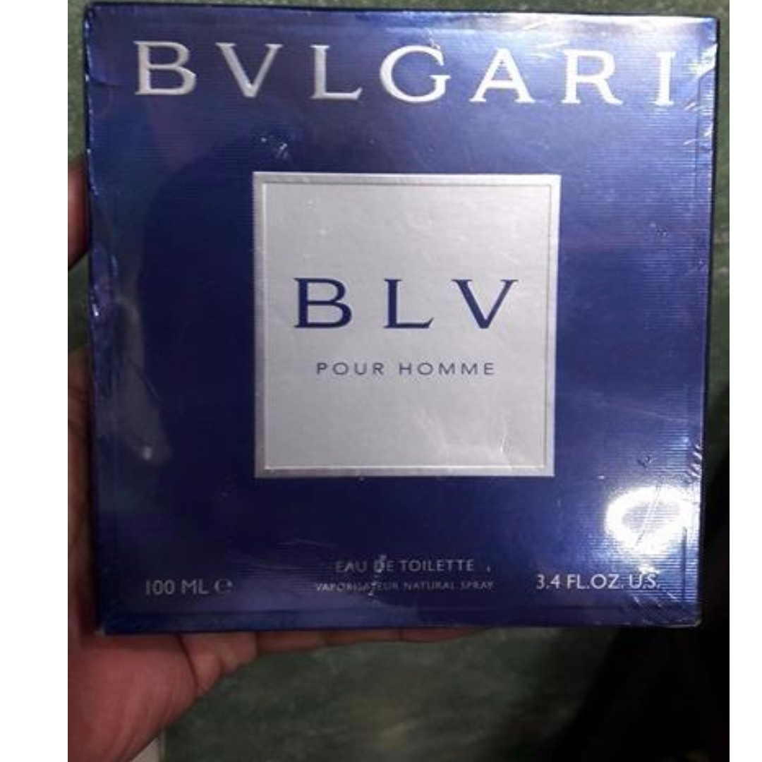 Bvlgari Blv For Men 150ml Health Beauty Perfumes Nail Care Blue Edt 100ml Others On Carousell