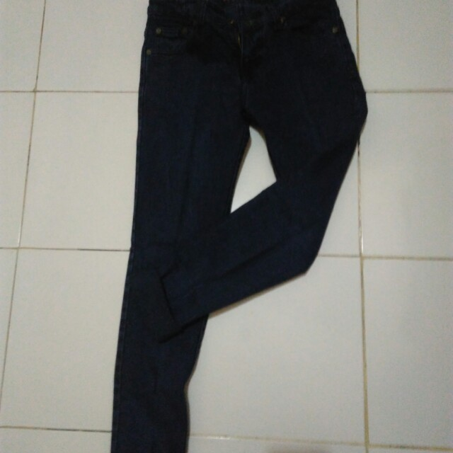 Celana jeans navy #prelovedkusayang