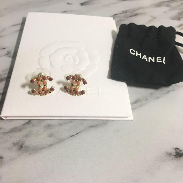 Chanel 耳環 真品
