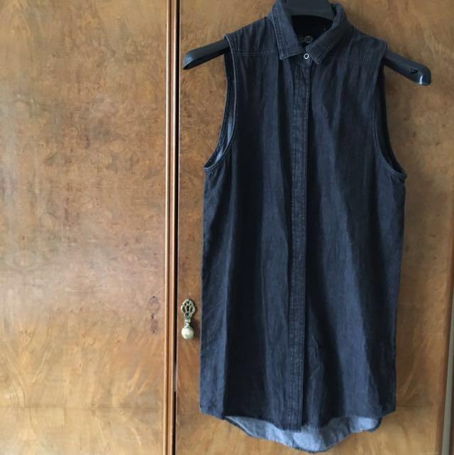 Cheap Monday jean dress, Size Small