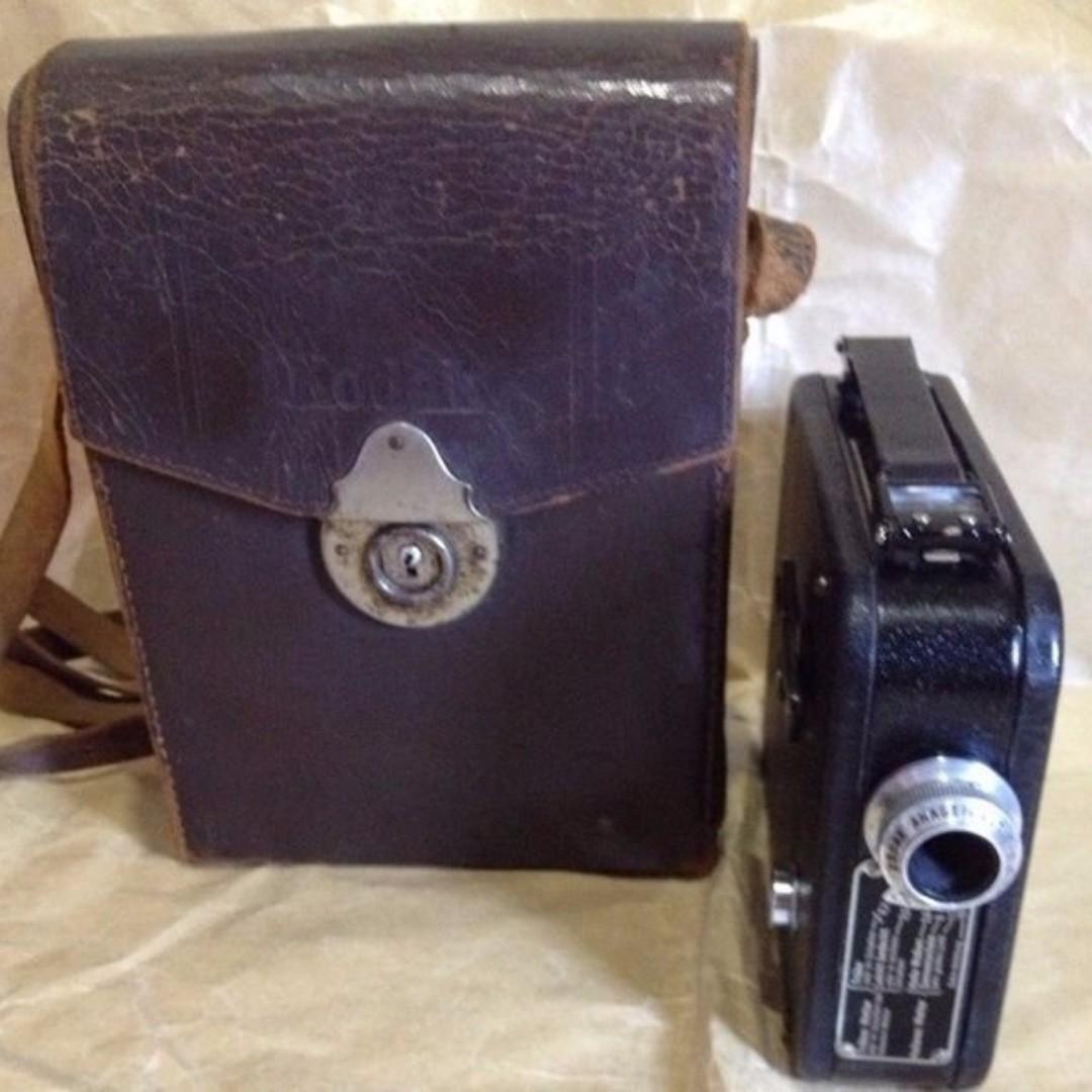 CINE Kodak 8 MODELL 25 德國製機械攝影機(約1932-1940年)
