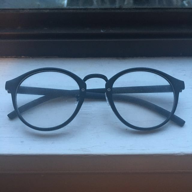 Clear Lens Retro Glasses