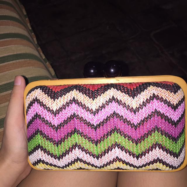 CLUTCH LESFEMMES TRIBAL