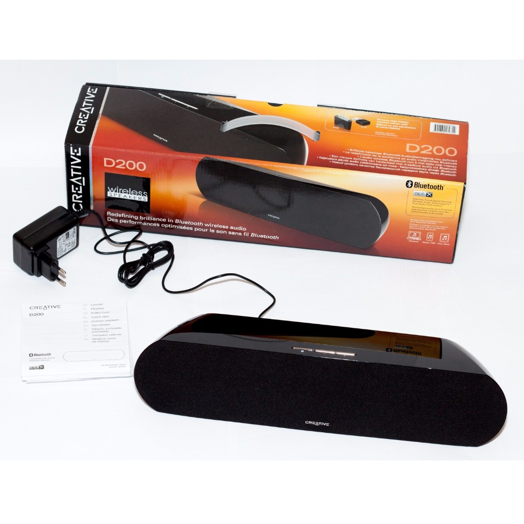 creative d200 bluetooth speaker no adapter electronics audio on rh sg carousell com Creative Art Ideas Creative Leaflet