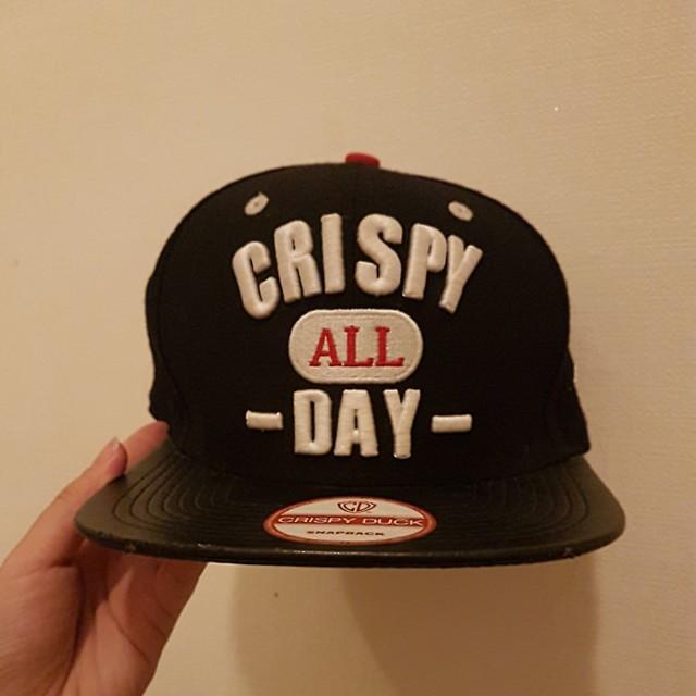 Crispy all day snapback