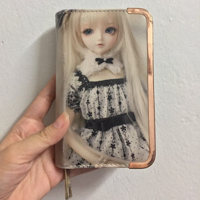 Cute Doll Wallet