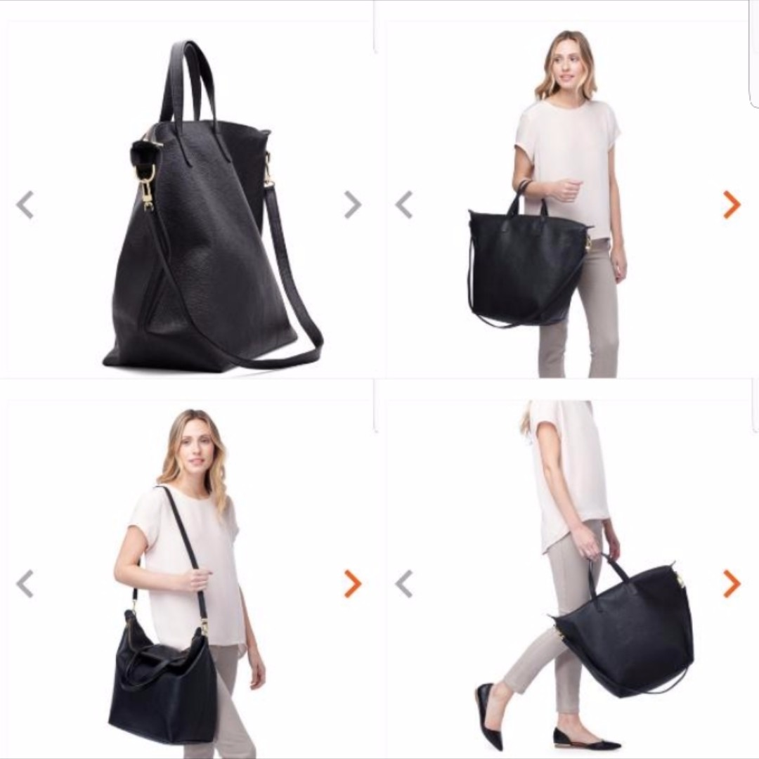 3d6ebd732 Cuyana Oversized Carryall Tote Pebbled Leather, Women's Fashion, Bags &  Wallets on Carousell