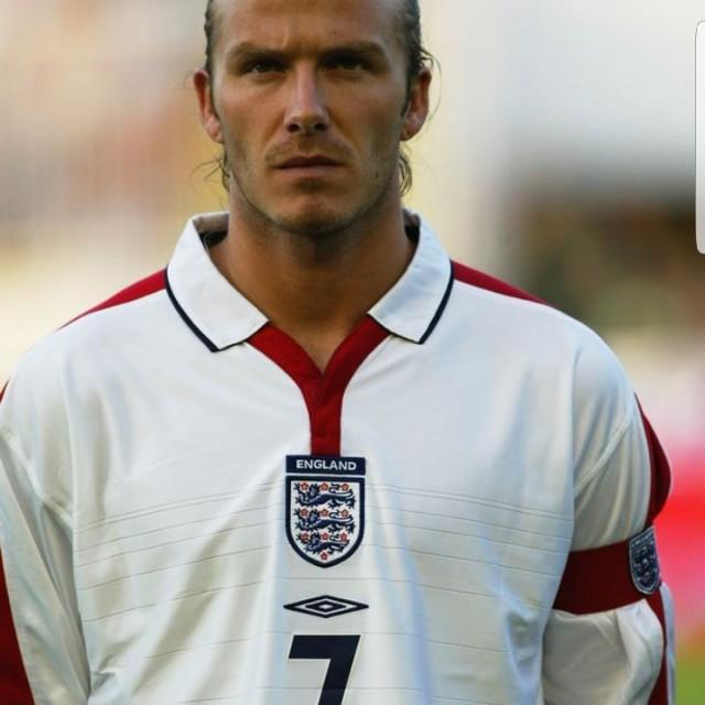 David Beckham 2003/2005 England jersey, Sports, Sports ...