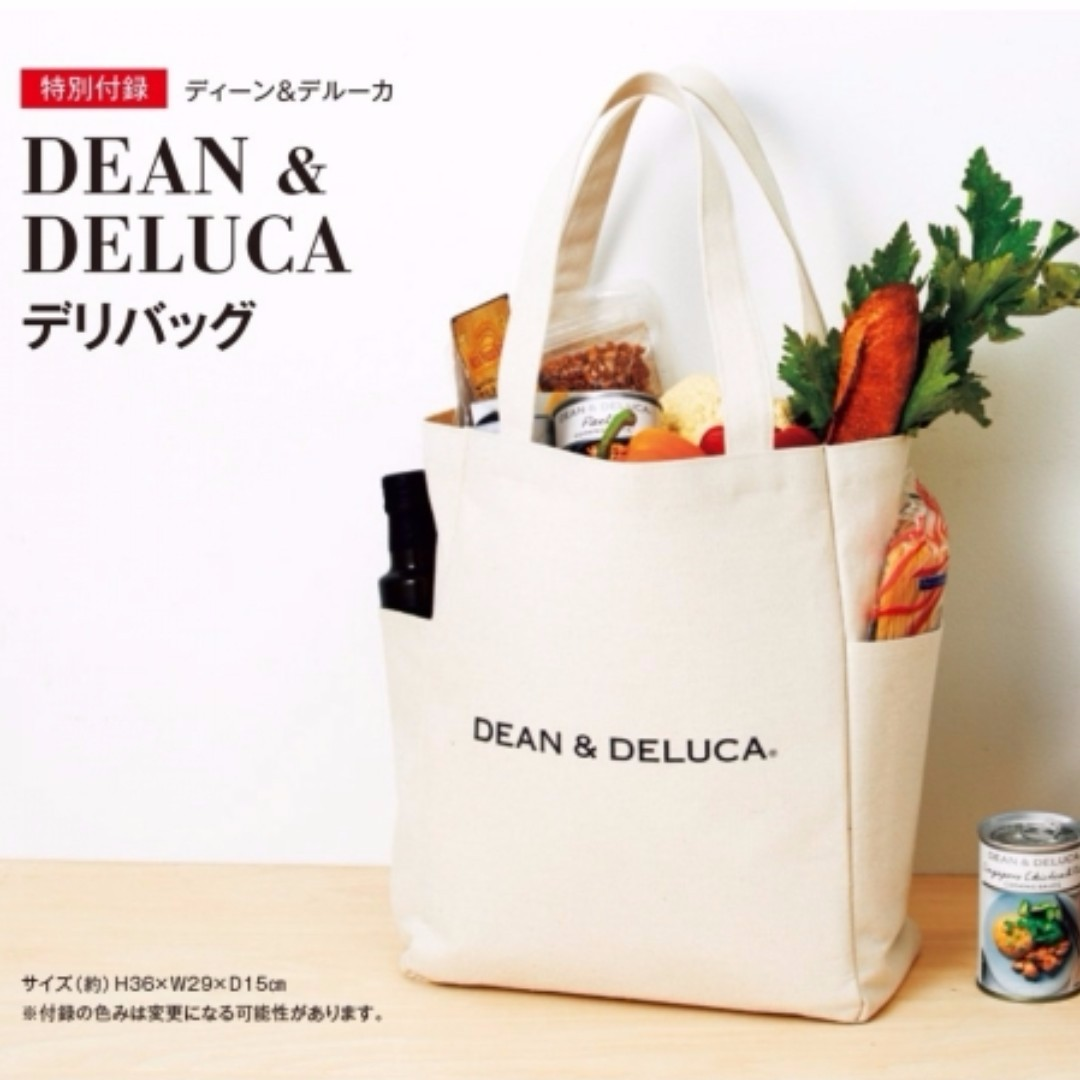 Dean And Deluca Daily Tote Bag With 2 Side Pockets Women S Fashion Bags Wallets On Carou