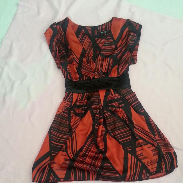 Dorothy Perkins Silk Dress Small