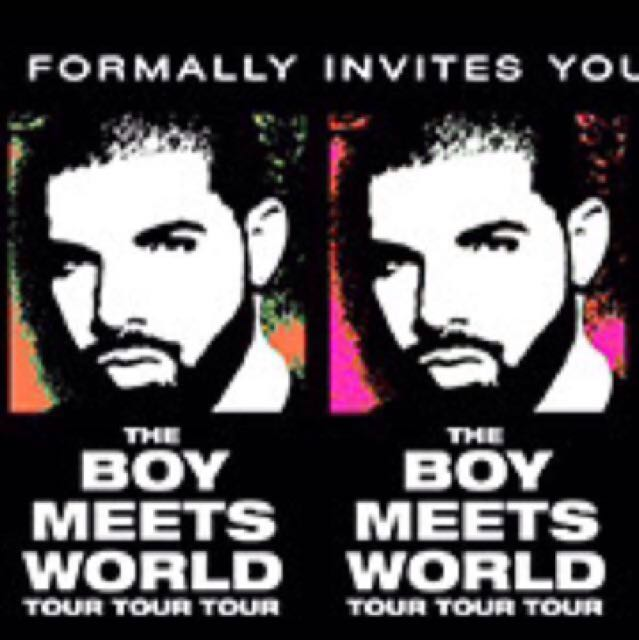 Drake 7/11/17 silver tickets x2 section 71