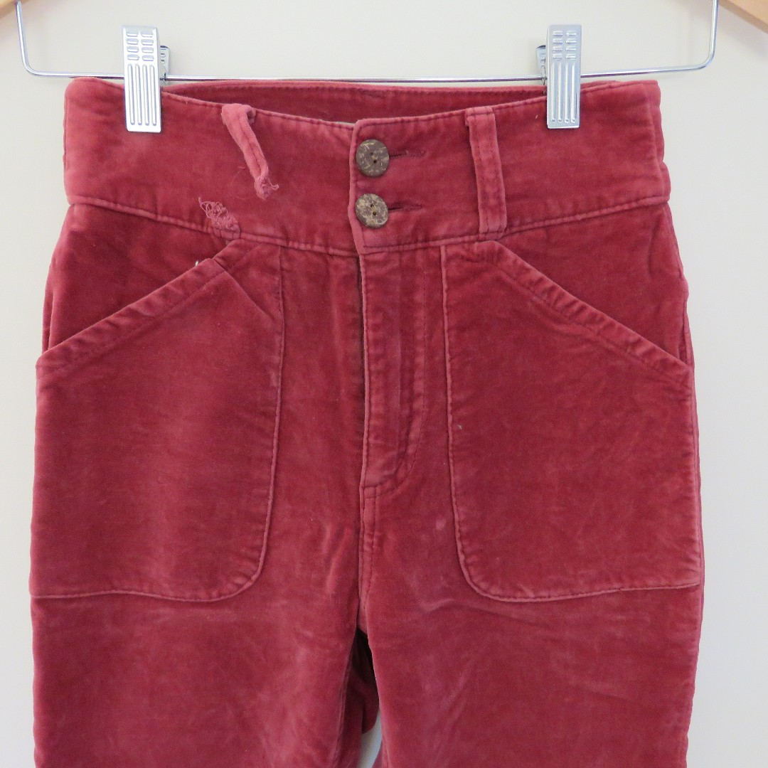 DUSTY PINK HIGH WAISTED PANTS SIZE 6