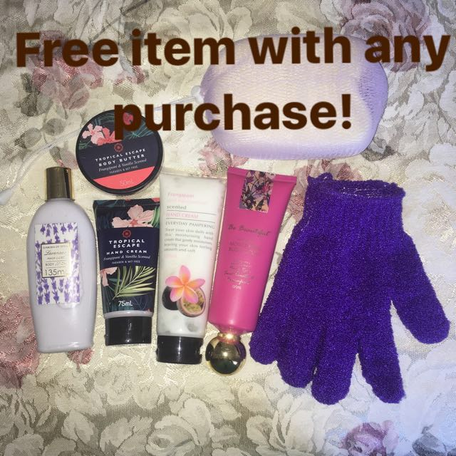 Free item with any purchase!