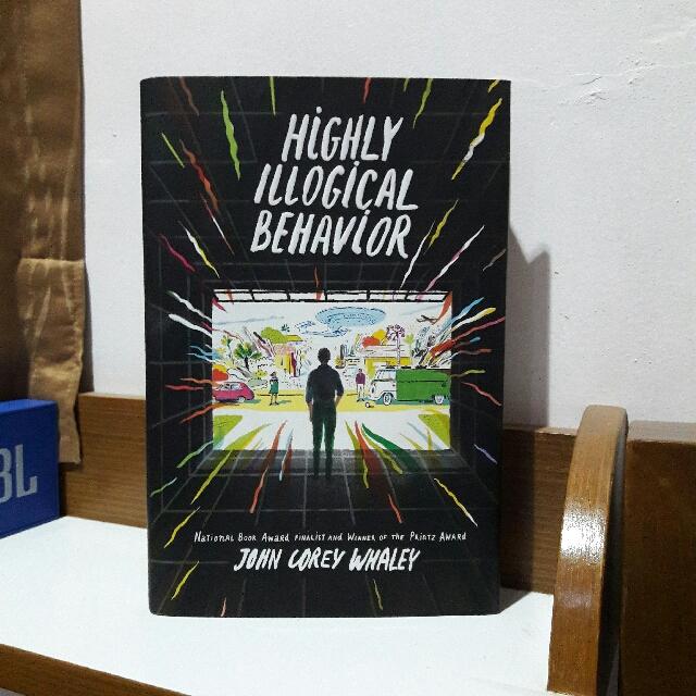 [FREE ONGKIR JABODETABEK] Highly Illogical Behavior by. John Corey Whaley