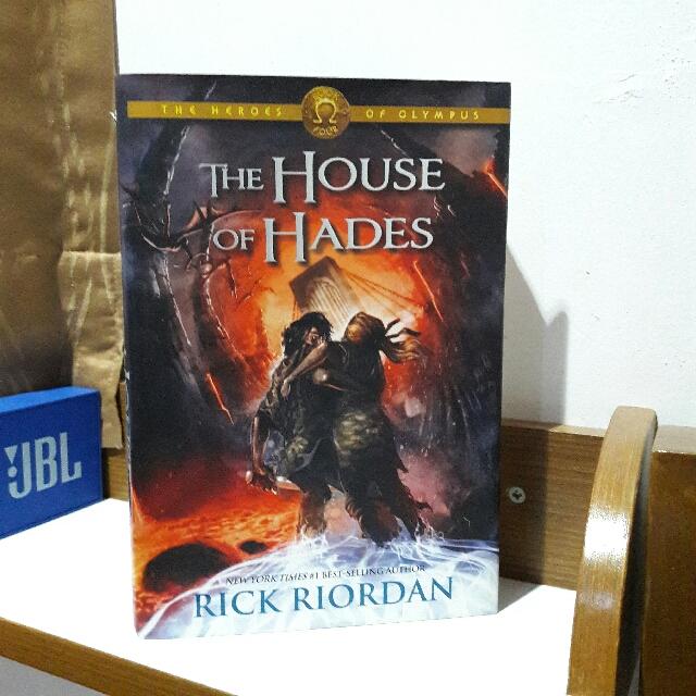[FREE ONGKIR JABODETABEK] The House of Hades (Heroes of Olympus #4) by. Rick Riordan