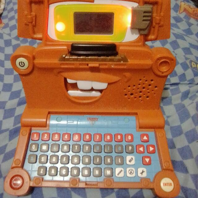 Free Sf! Talking Mater Learning Laptop Vtech