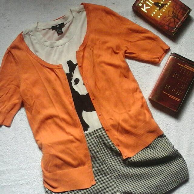 G200 Cardigan (Orange)