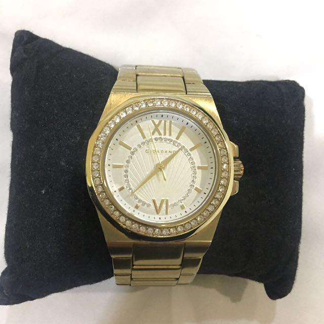 Giordano gold watch