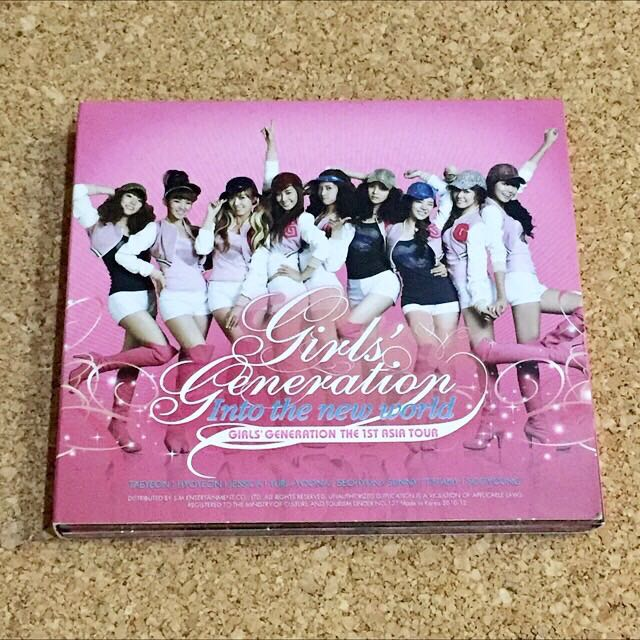 Girls' Generation Live Album - The 1st Asia Tour : Into the New World.