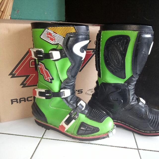 NEGO gordon's racing boots / sepatu boots