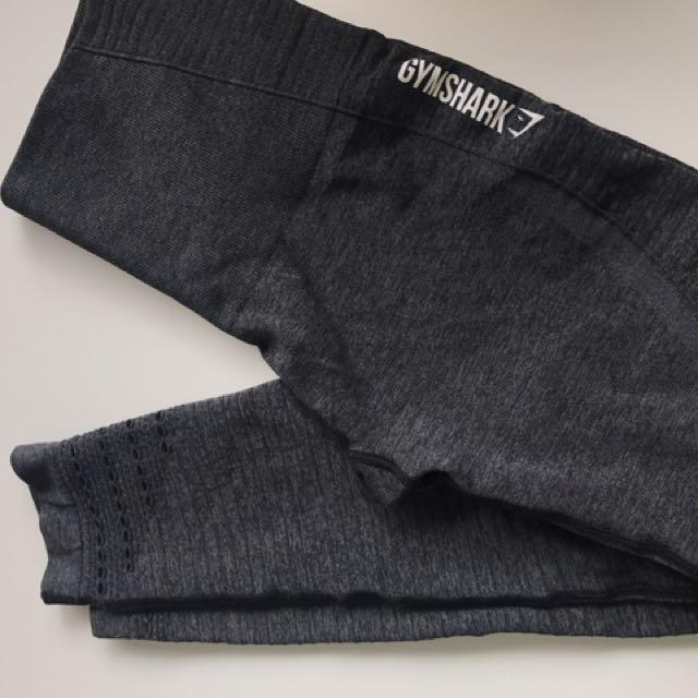 Gymshark high waisted squat proof branded leggings