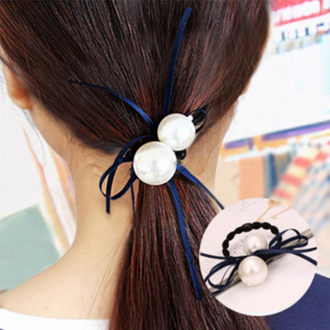 Hair Accessories - Two Pearls