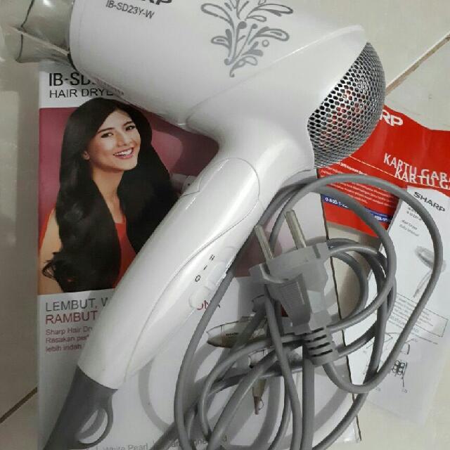 hair dryer Sharp White