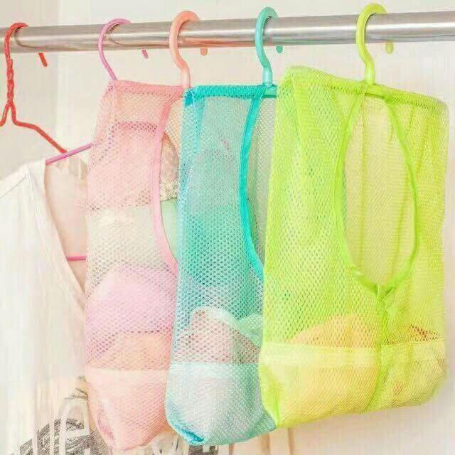 Hanging Multi Purpose Mesh Bag